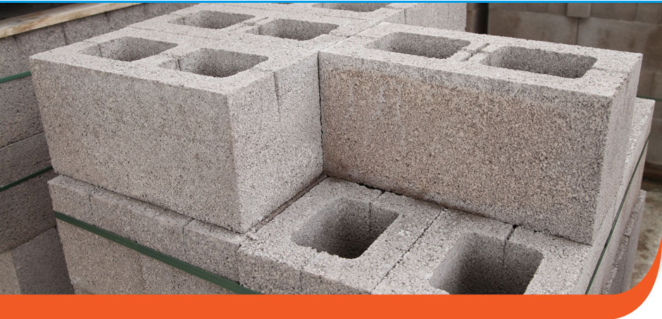 Wall construction bricks and blocks for Building a concrete block house